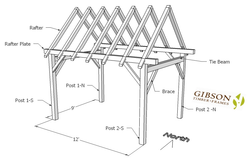 Online Store for Gibson Timber Frames for Timber Framing Plans ...